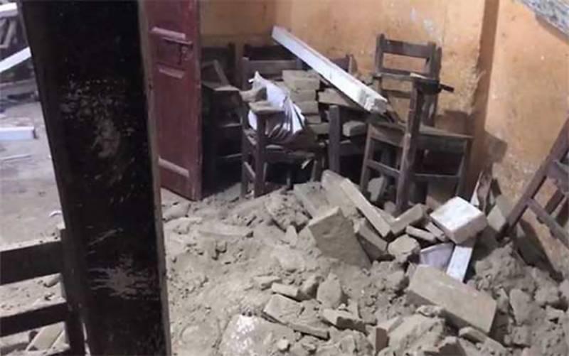 بہاولپور: نجی سکول کی چھت گر گئی، 9 بچے، 2 ٹیچر زخمی