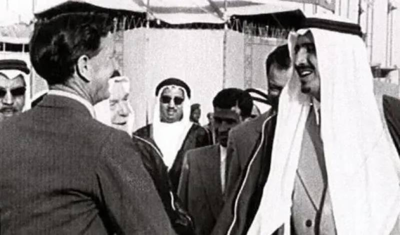 شاہ سلمان بن عبدالعزیز کی 64 برس پرانی تاریخی تصویر!