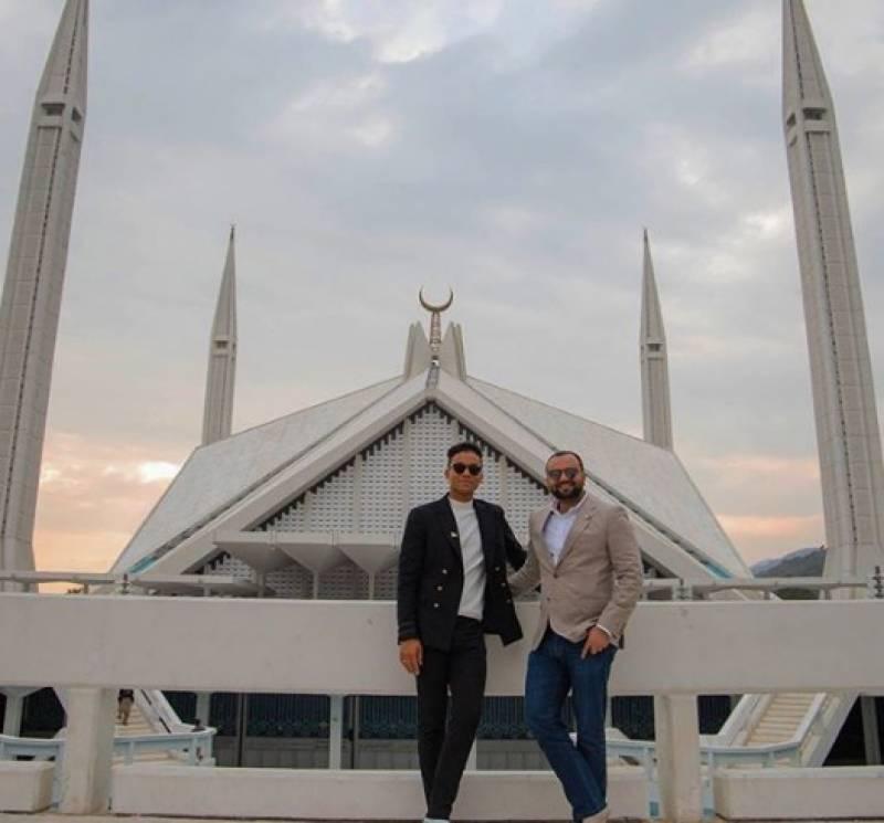 مائیکل جیکسن کے بھتیجے جعفر جیکسن کی اسلام آباد میں سیر و تفریح