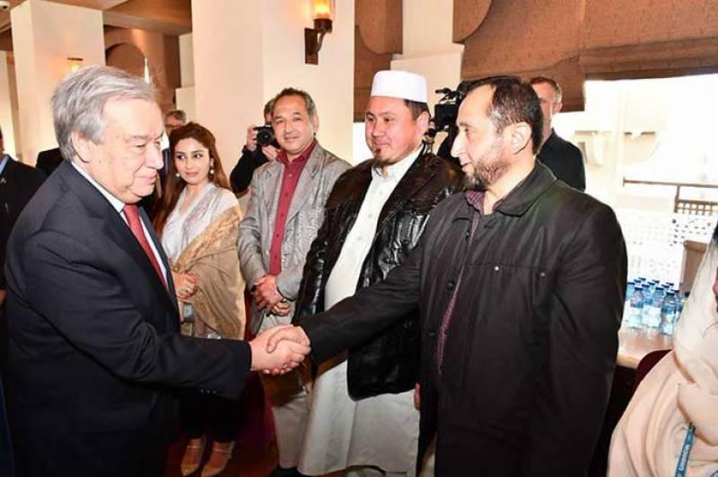 دنیا کو پاکستانی قوم کی قربانیوں کا اعتراف کرنا چاہئیے:سیکریٹری جنرل اقوام متحدہ