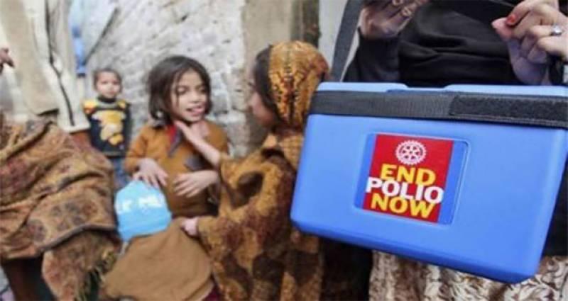 ملک بھر میں انسداد پولیو مہم دوسرے روز میں داخل