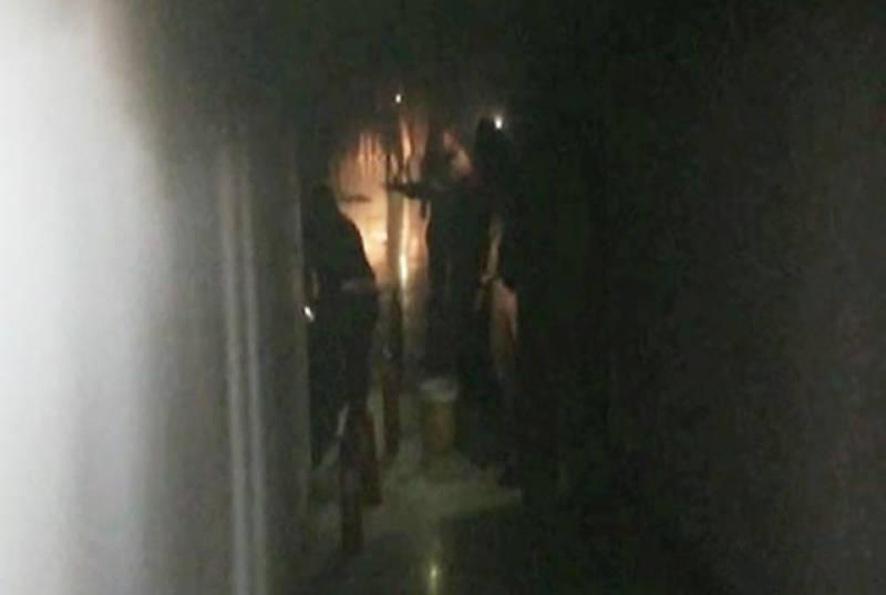 مسلم لیگ ن کی ترجمان مریم اورنگزیب کے فلیٹ میں آگ بھڑک اٹھی