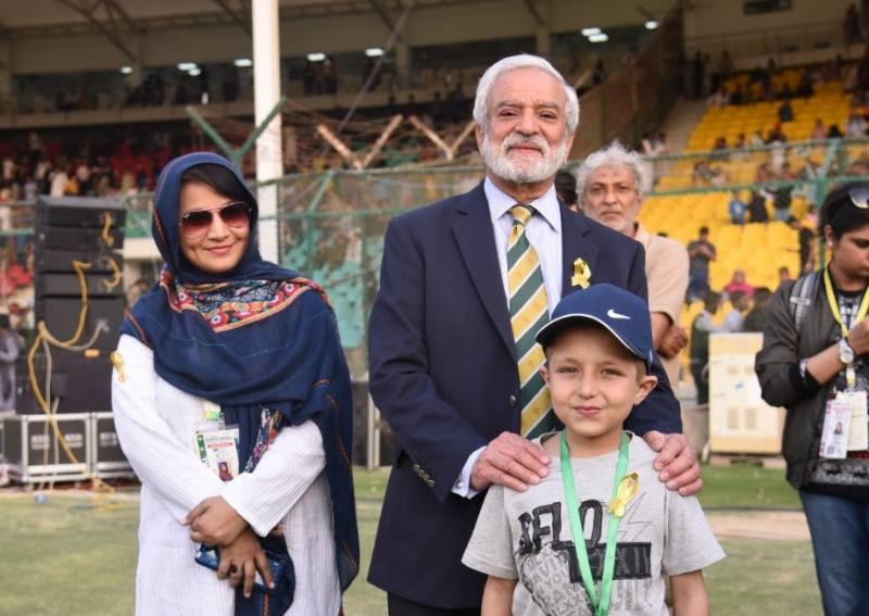 ایچ بی ایل پاکستان سپر لیگ کے آج ہونے والے میچز کے دوران گولڈن ربن ڈے منایا گیا