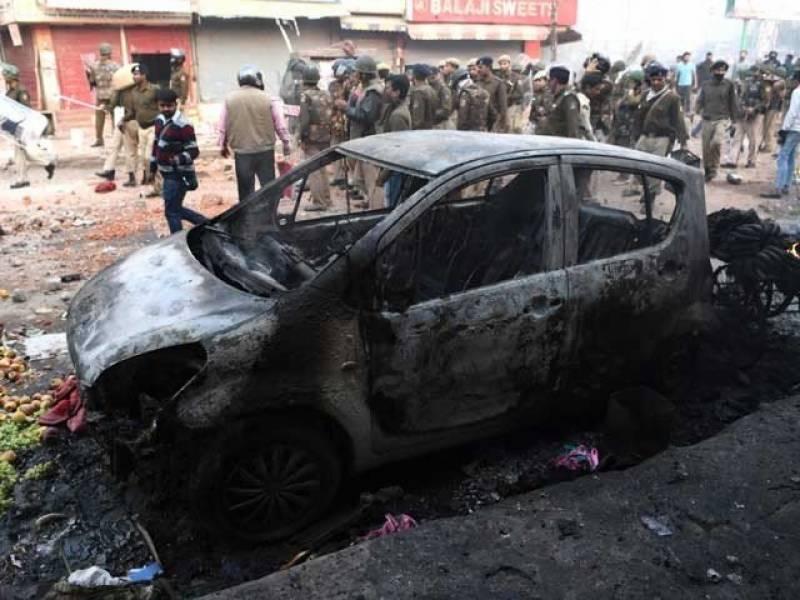 متنازع شہریت قانون: نئی دہلی میں ہنگامے پھوٹ پڑے، 4 ہلاک