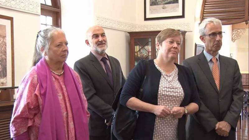 آرمی چیف سے یورپی یونین کے وفد کی ملاقات