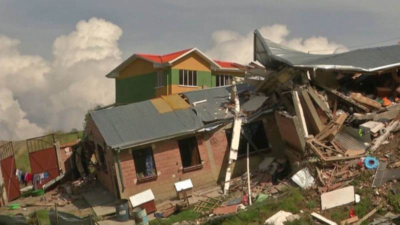 بولیویا میں سیلاب نے تباہی مچادی