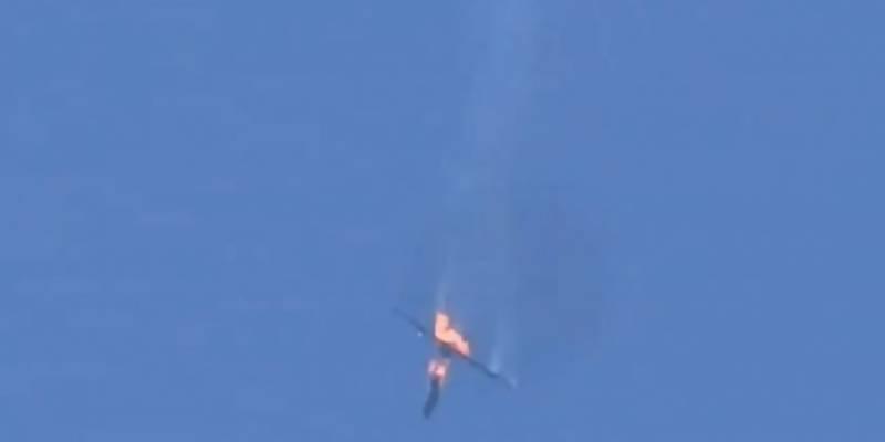 ترکی نے شام کے دو روسی ساختہ طیارے مار گرائے
