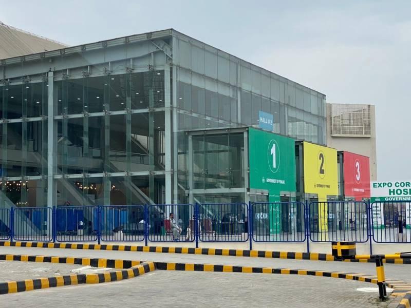 لاہور میں1000بستروں پر مشتمل خصوصی فیلڈ اسپتال تیار
