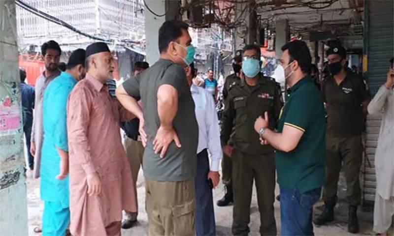 ایس او پیز کی خلاف ورزی، شاہ عالم مارکیٹ میں 45، چونگی امرسدھو میں 7 دکانیں سیل