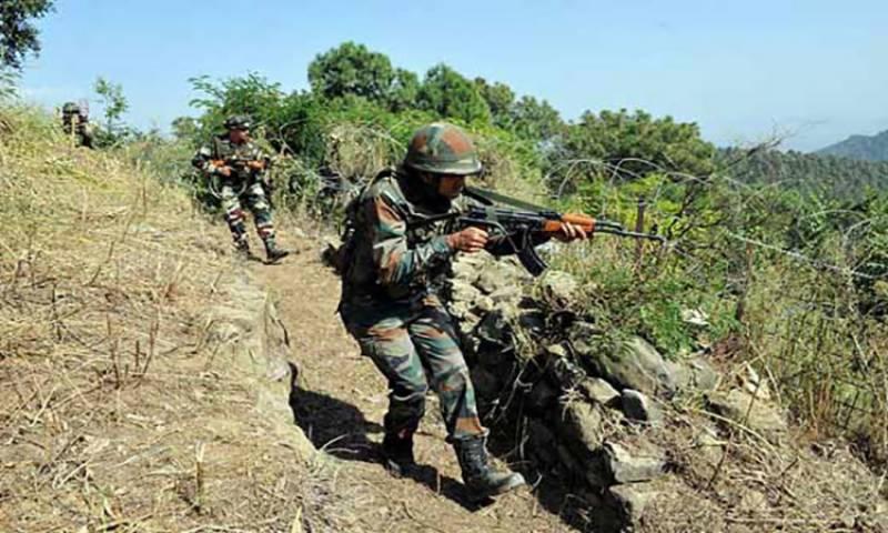 بھارتی فوج کی ایل او سی پر ایک بار پھر بلا اشتعال فائرنگ، شہری زخمی
