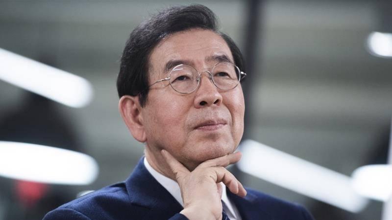 جنوبی کوریا: دارالحکومت سیول کے میئر مردہ پائے گئے