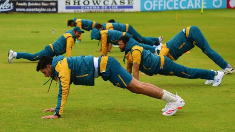 پاکستان کرکٹ ٹیم کے کھلاڑیوں کی انگلینڈ کے خلاف ٹیسٹ سیریز کی تیاری کا سلسلہ جاری