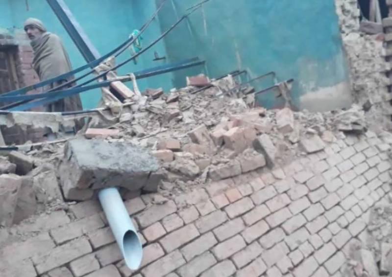 پنجاب کے مختلف شہروں میں طوفانی بارشیں، چھتیں گرنے سے 15 افراد جاں بحق