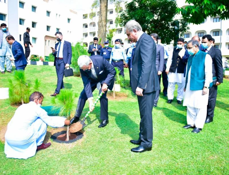وزیرخارجہ شاہ محمود سے اقوام متحدہ جنرل اسمبلی کے صدر وولکن بوزکر کی ملاقات