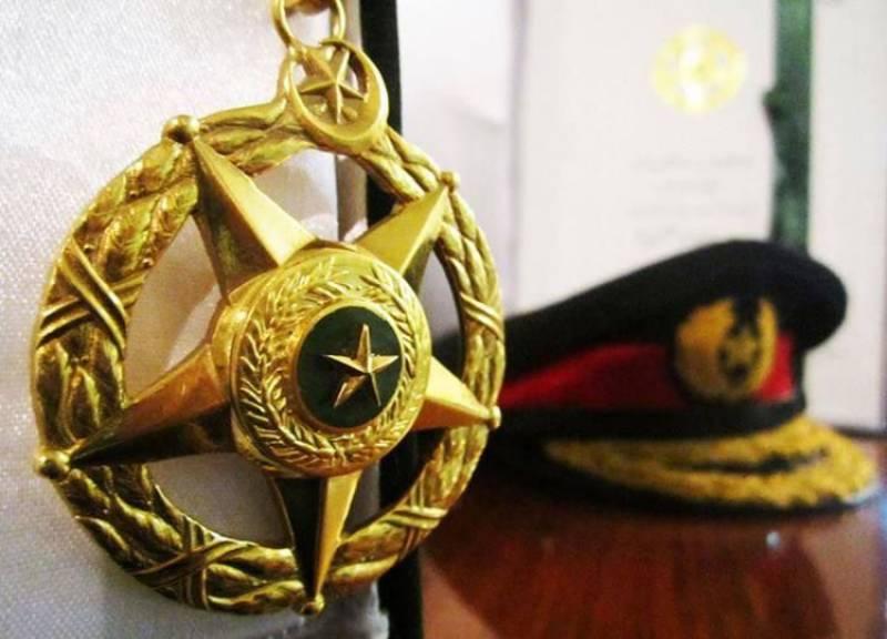 پاکستان کا سب سے بڑا فوجی اعزاز نشان حیدر