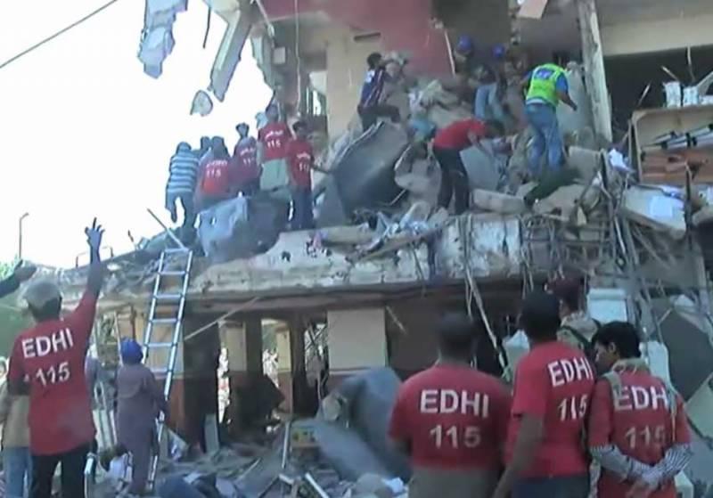 کراچی: گلشن اقبال بلاک 7 اللہ نور اپارٹمنٹ میں دھماکا، 3 افراد جاں بحق، متعدد زخمی