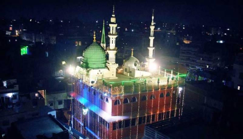 حضرت محمد مصطفیٰ ﷺ کی ولادت باسعادت، درودو سلام کی صداؤں سے فضا معطر