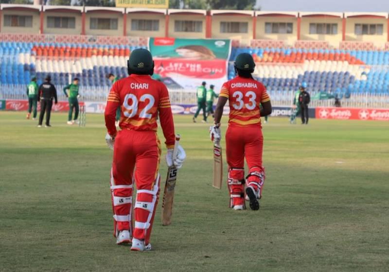 دوسرا ون ڈے، زمبابوے کا پاکستان کے خلاف ٹاس جیت کر بیٹنگ کا فیصلہ