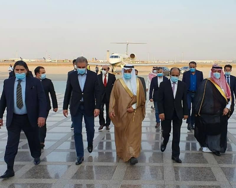 وزیر خارجہ شاہ محمود قریشی کا سعودی عرب کا مختصر دورہ