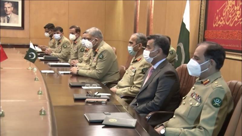 پاکستان اور چین ہر مشکل میں ایک دوسرے کے ساتھ کھڑے ہیں: آرمی چیف