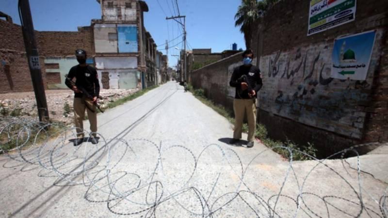 پشاور کے مختلف علاقوں میں تاحکم ثانی اسمارٹ لاک ڈاؤن نافذ