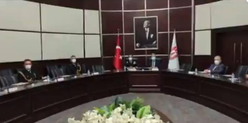 پاک بحریہ کے سربراہ ایڈمرل محمد امجد خان نیازی کا دورہ ترکی
