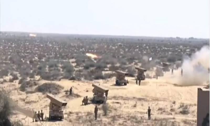 پاک فوج کی سالانہ تربیتی مشق ضرب حدید جاری