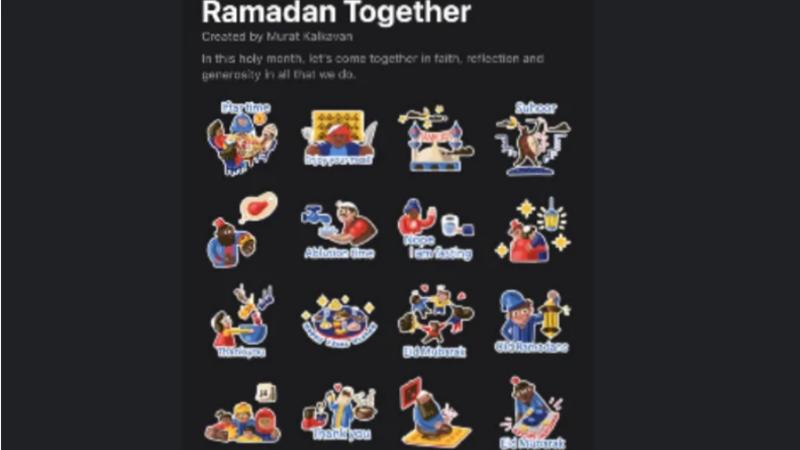 واٹس ایپ نے رمضان سے متعلق نئے اسٹیکرز متعارف کروادیے