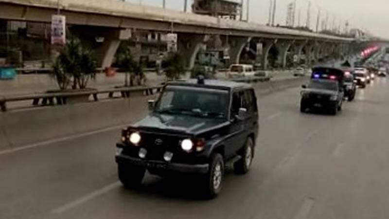 فلیگ مارچ کا مقصد امن و امان کو یقینی بنانے کے عزم کا اظہار ہے، راولپنڈی پولیس شہریوں کی جان و مال اور سرکاری و نجی املاک کی حفاظت کے لئے ہر لمحہ تیار ہے: ایس ایس پی آپریشنز شعیب محمود