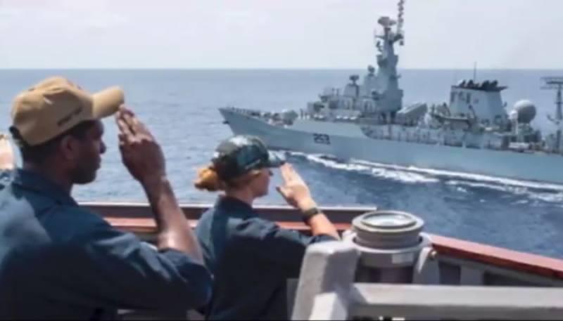 پاکستان بحریہ کی کثیر الملکی بحری آپریشن چینوک آرچر میں شرکت