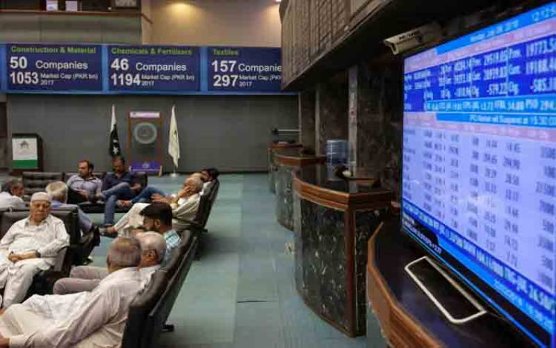پاکستان اسٹاک ایکسچینج میں کاروبار کے آغاز پر تیزی