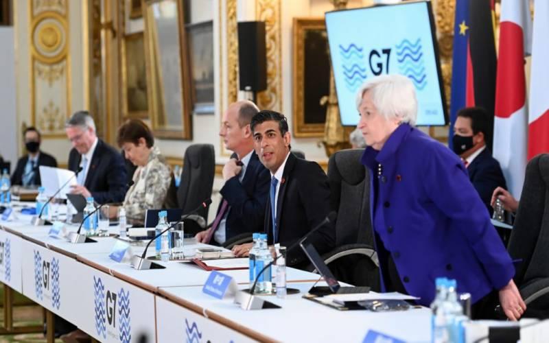 جی سیون ممالک نے کارپوریٹ ٹیکس کی منظوری دے دی