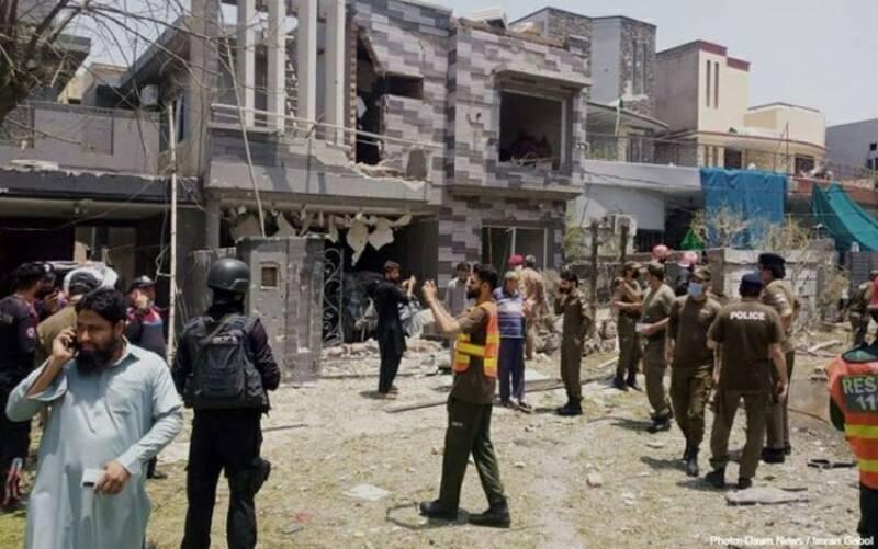 لاہور:دھماکے میں3افرادجاں بحق، متعدد زخمی