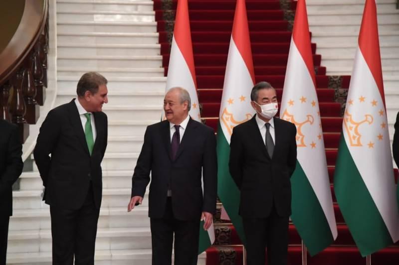 تاجکستان کے ساتھ تعلیم اور توانائی کے شعبوں کے فروغ کیلئے پر عزم ہیں: شاہ محمود قریشی