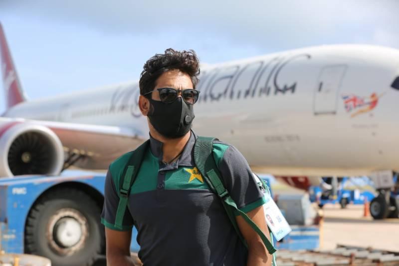 دورہ ویسٹ انڈیز کیلئے قومی کرکٹ ٹیم بارباڈوس پہنچ گئی
