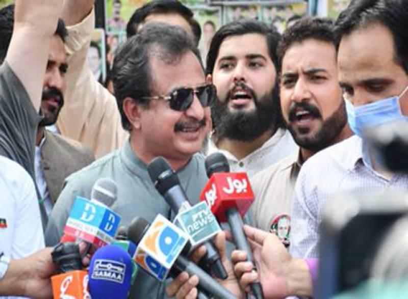 کشمیر سے آج بھٹو اور ن لیگ کا نام ختم ہو جائے گا: حلیم عادل شیخ