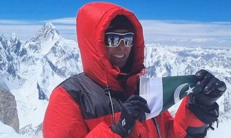 پاکستانی خاتون کا منفرد اعزاز، بچے کی پیدائش کے چند ماہ بعد آٹھ ہزار میٹر بلند چوٹی سر کر لی