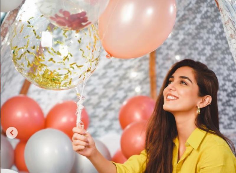 مایا علی کی سالگرہ کی تصاویر مداحوں کو بھا گئیں
