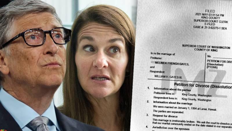 بل اور ملینڈا گیٹس نے طلاق کے پیپرز پر دستخط کردیے