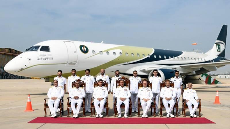 پاکستان بحریہ میں پہلے لانگ رینج میری ٹائم پٹرول جیٹ کی شمولیت