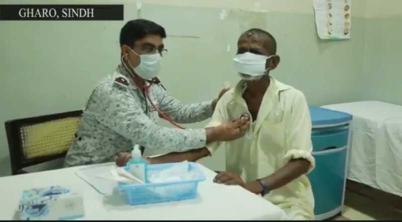 پاک بحریہ کی جانب سے سندھ کے قصبے گھارو اور بلوچستان کے ساحلی گاوں چوہڑ بندر میں میڈیکل کیمپس کا انعقاد