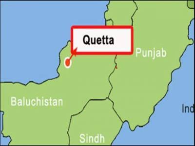 کوئٹہ کے علاقے سریاب روڈ پر شرپسندوں کی فائرنگ سے ایک شخص جاں بحق اوردو پولیس اہلکار زخمی ہو گئے ۔