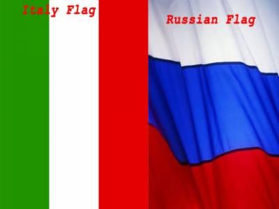 روس اور اٹلی نے تجارتی تعلقات کے فروغ اور عالمی معاشی بحران سے نمٹنے کے لیے مشترکہ کوششوں پر اتفاق کیاہے۔