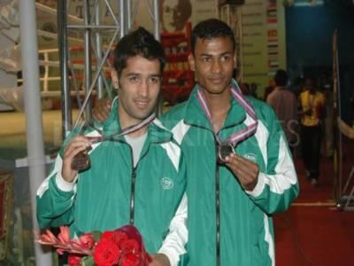 بیجنگ میں ہونےوالی سپورٹس ایکارڈ کامبیٹ گیمزمیں پاکستان کے باکسر محمد وسیم نے گولڈمیڈل جیتنے کا اعزاز حاصل کرلیا ۔
