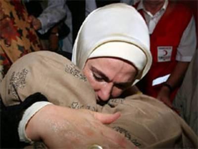 ترکی کی خاتون اول امینہ اردگان نے عالمی برادری سےاپیل کی ہےکہ پاکستان کےسیلاب کے متاثرین کی مدد کیلئے آگے آئے۔