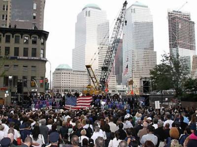 امریکہ میں نائن الیون کی برسی منانے کے حوالے سے تیاریاں جاری، جبکہ گراؤنڈ زیرو پر مسجد کی تعمیرکے معاملے پرکشیدگی بڑھنے کا بھی خدشہ ہے۔
