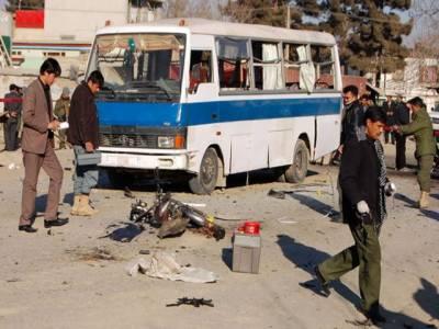 افغان دارالحکومت کابل میں پارلیمنٹ کے قریب خودکش حملے میں چاراہلکارجاں بحق اور پچیس زخمی ہوگئے۔