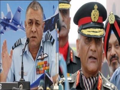 بھارتی مسلح افواج کے سربراہوں نے پارلیمنٹ کی پبلک اکاؤنٹس کمیٹی کو راشن سپلائی میں بے ضابطگیوں کی وضاحت پیش کردی۔