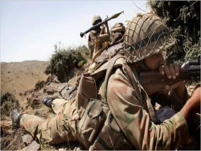 سوات اور دیر کی سرحد پرسکیورٹی فورسز کی کارروائی، گیارہ شدت پسند ہلاک