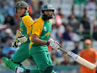 دسویں ورلڈ کپ میں جنوبی افریقہ نے ہالینڈ کو دوسو گیارہ رنز سے شکست دے دی ہے۔